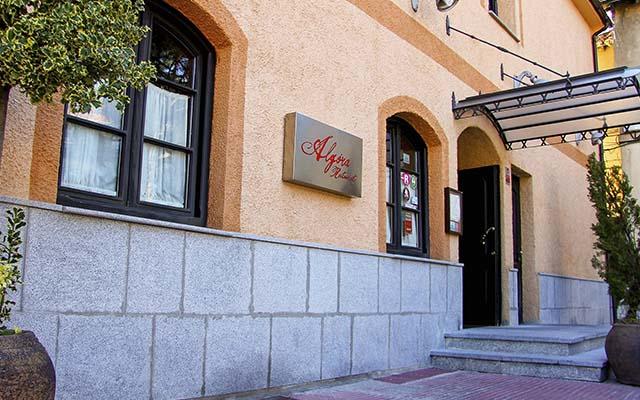 Fachada del Restaurante Algora